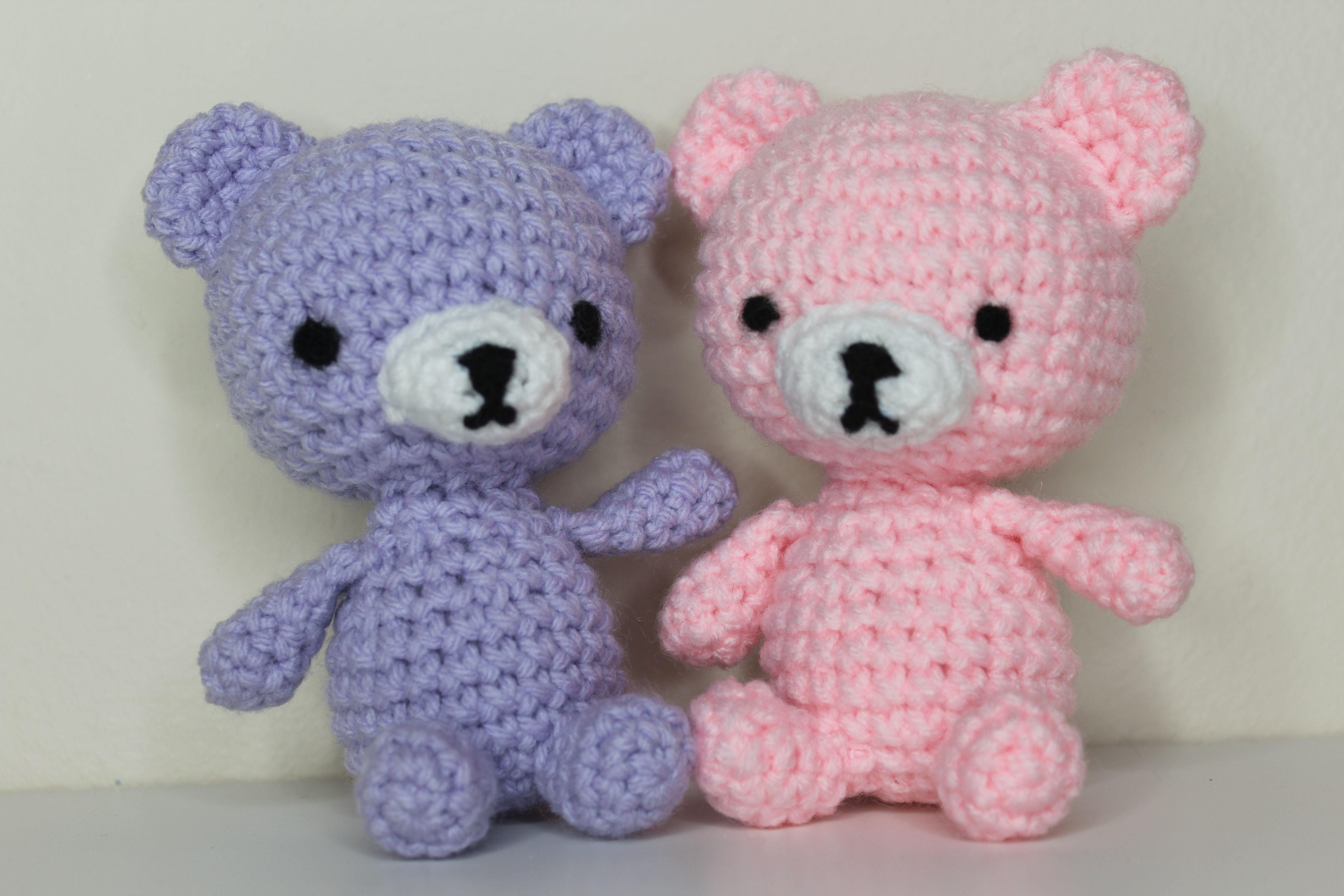 Mini Teddy Bear Keychain Free Crochet Pattern – Crochetfuldiy.com | 3456x5184