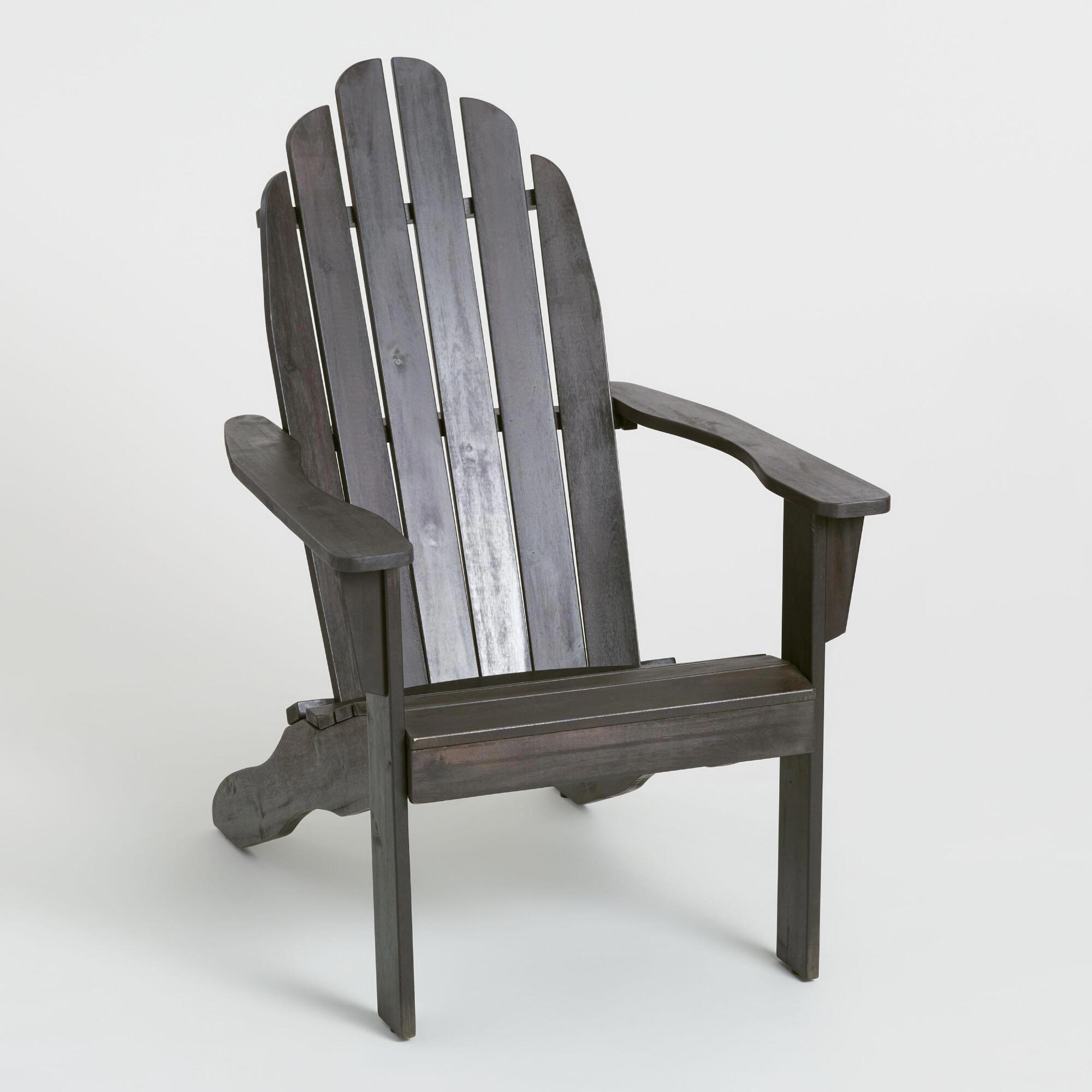 Espresso Brown Adirondack Chair By World Market Adirondackchairs