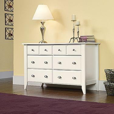 Soft White Dresser White 6 Drawer Dresser Sauder Furniture White Dresser