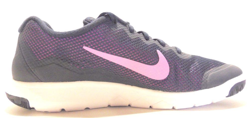 5abc011a3e461 NIKE Women s Flex Experience RN 4 Shoes Running Midnight Navy   Fuchsia  Size 10  Nike  RunningCrossTraining