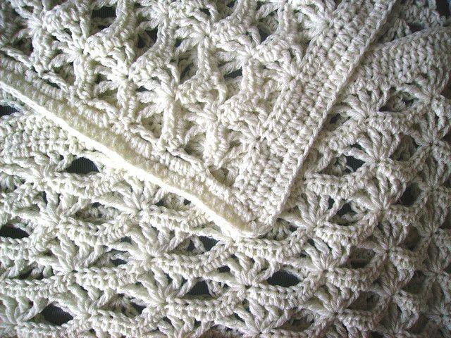 white baby blanket | Cobija, Tejido y Manta