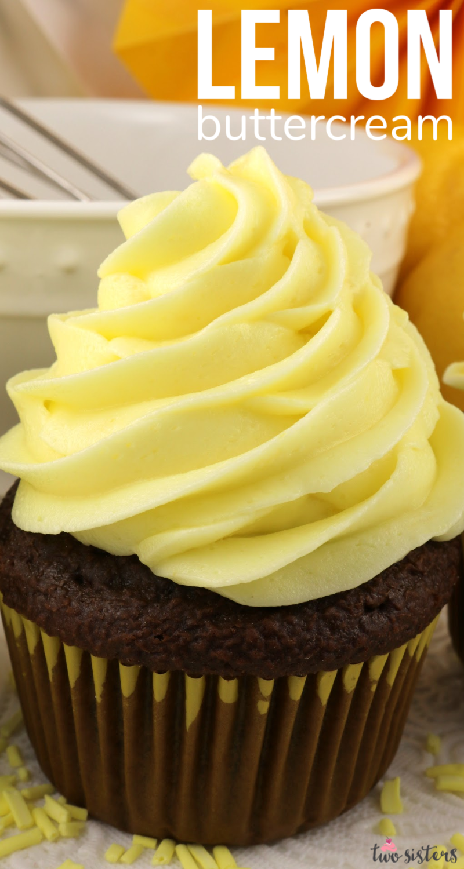 The Best Lemon Buttercream Frosting Recipe In 2020 Lemon Buttercream Frosting Frosting Recipes Buttercream Frosting Recipe