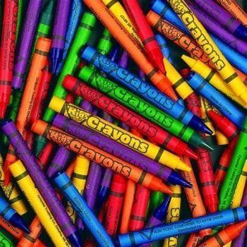 + bulk crayons (250 per unit)
