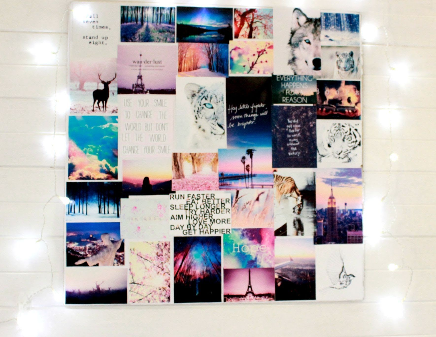 Photo of Bedroom picture wall collage