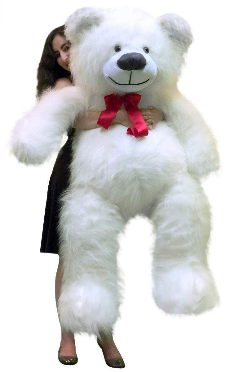 Baby Net For Stuffed Animals, American Made 5 Foot Giant White Teddy Bear 60 Inch Soft Made In Usa Walmart Com In 2020 Huge Teddy Bears Giant Teddy Bear Giant Teddy