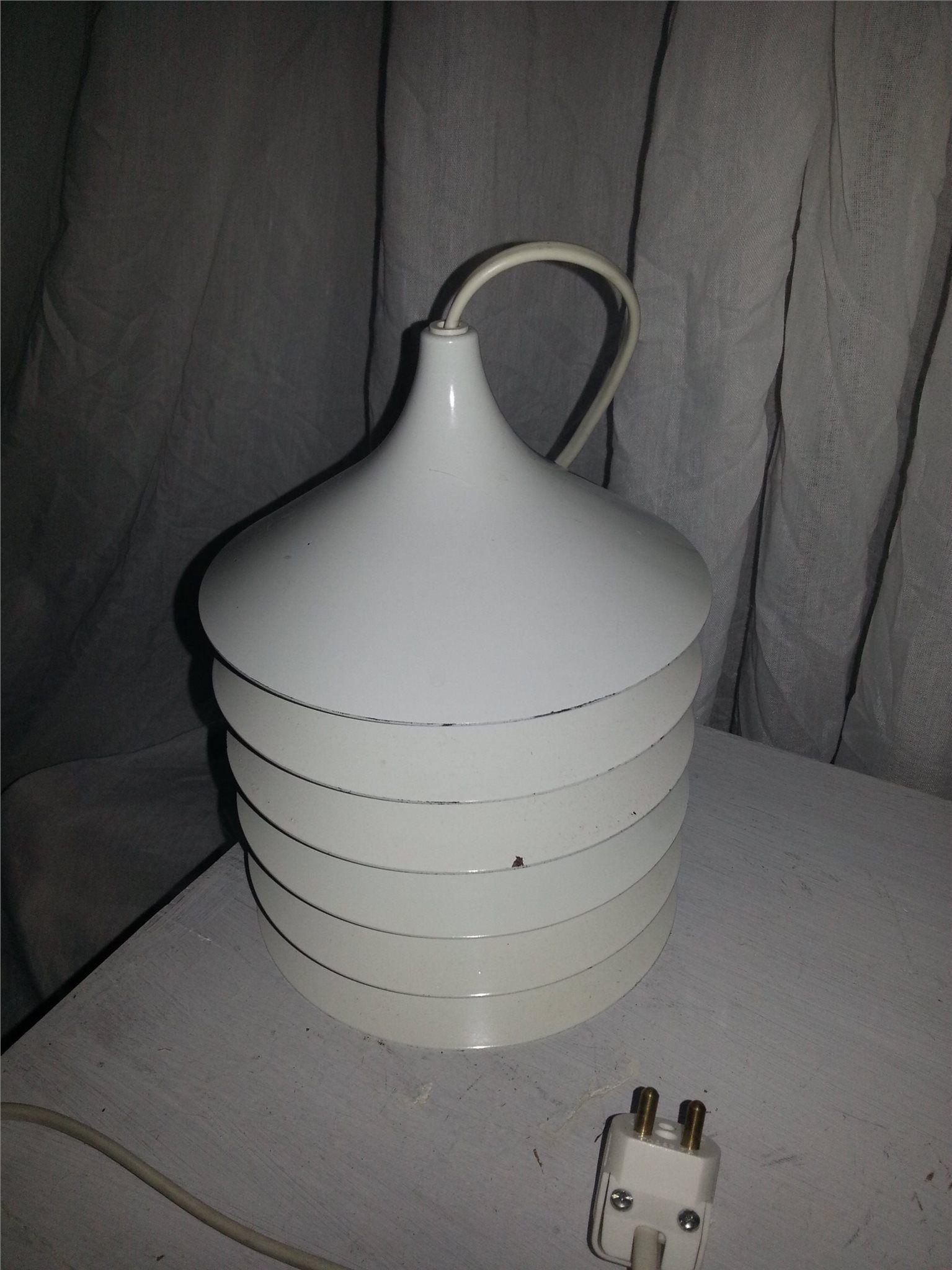 Annons på Tradera: Vit lampa duett ikea 70 tal retro | Ikea