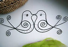 Dekorácie - vtáčik - 4976084_
