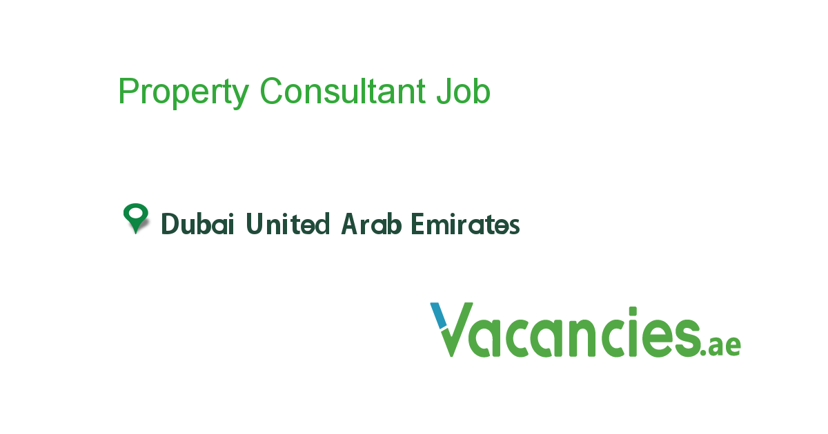 Property Consultant Executive Jobs Assistant Jobs Driver Job
