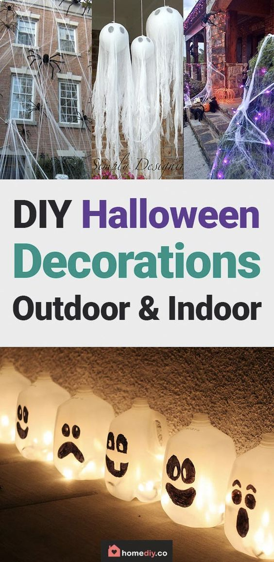 DIY Halloween Decorations - Best Home DIY Ideas to Try this Year