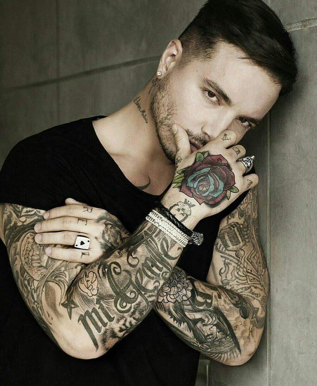 J balvin in 2020 Tattoos for guys, Tattoos, Guys