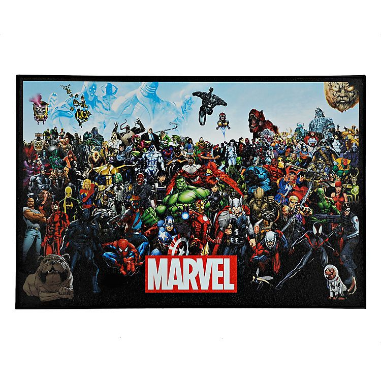 Marvel Lineup Framed Art Print | Kirklands | Logans Room | Pinterest