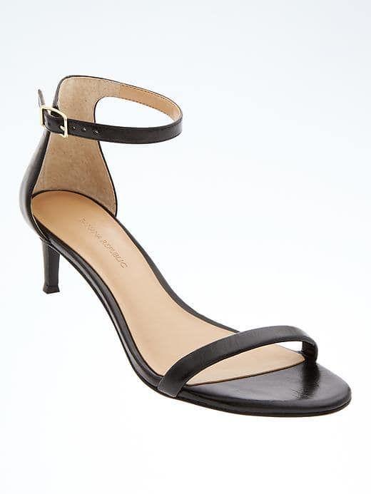 bf09219a0c76 Banana Republic Bare Kitten Heel Sandal