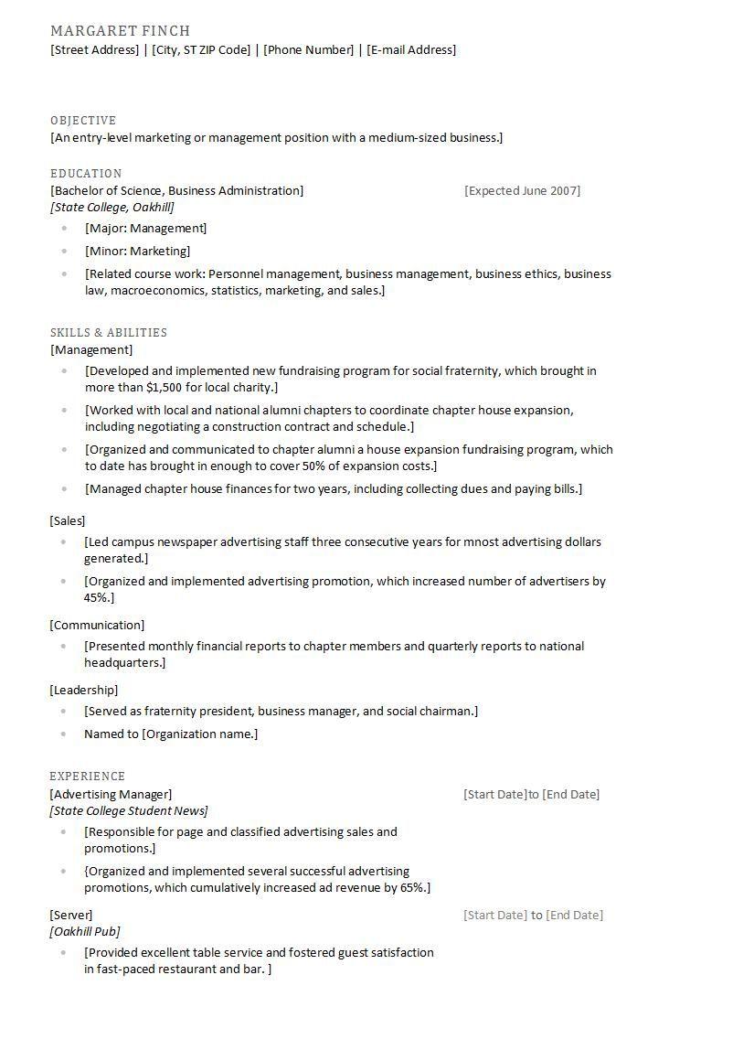 Contoh Curiculum Vitae Dalam Bahasa Inggris - http://ahmadjn.com ...