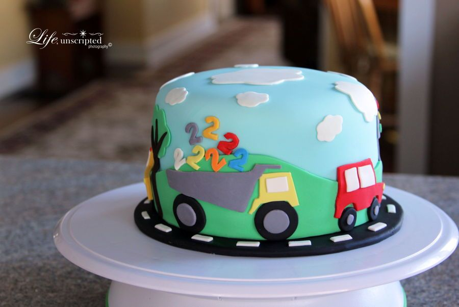 birthdAY CAKES with trucks and buses Google Search Cakes and