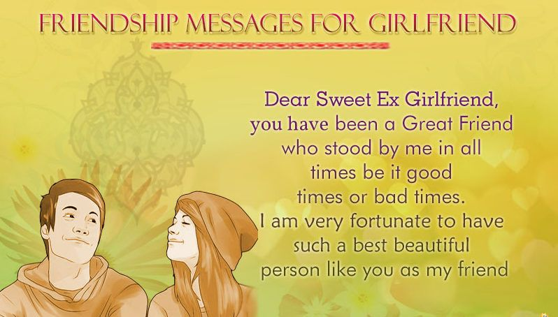 love messages for girlfriend | Happy Friendship Day messages & texts