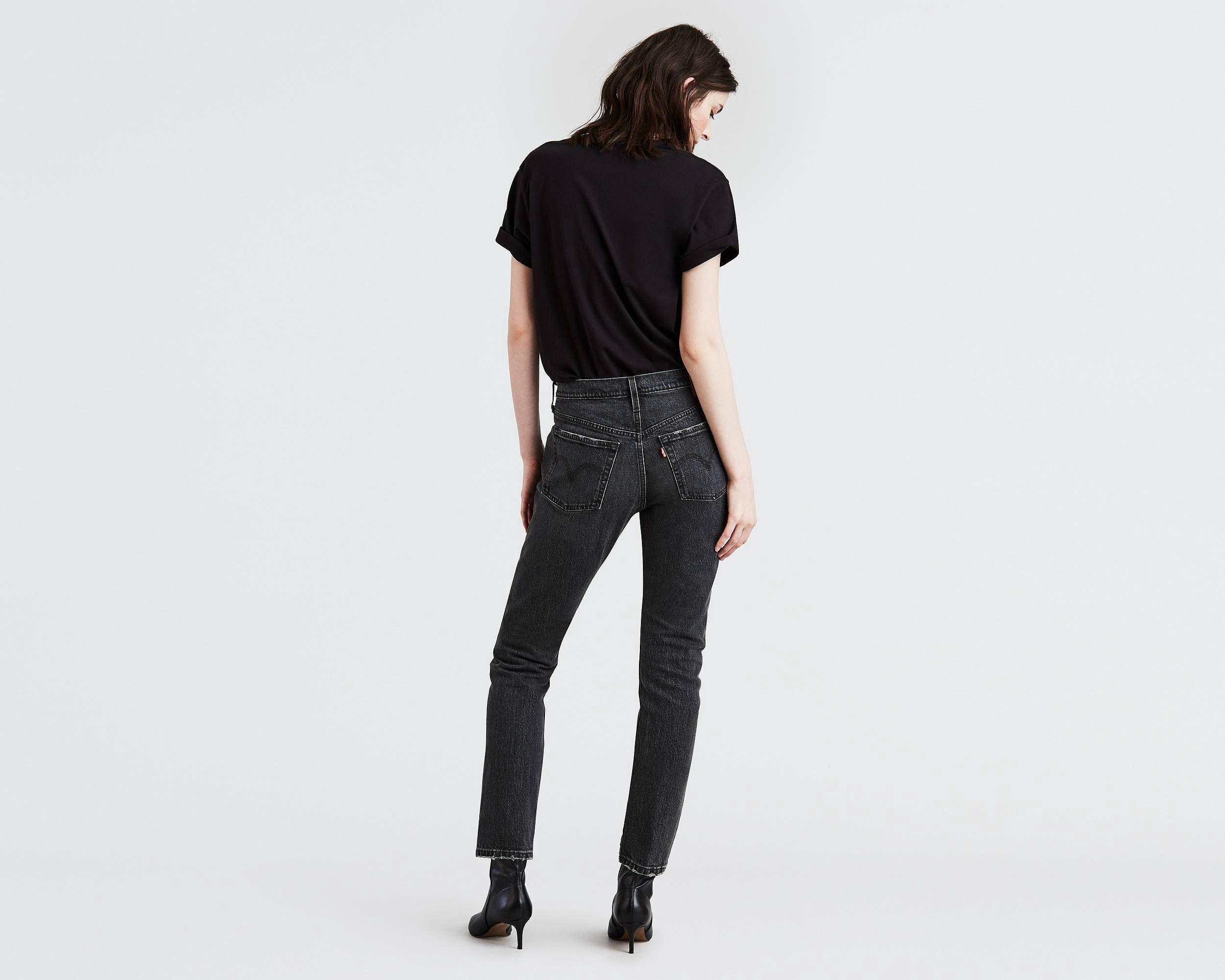 a7f95fc33704 Levi's 501® Stretch Skinny Jeans - Coal Black 24W X 30L | Products ...