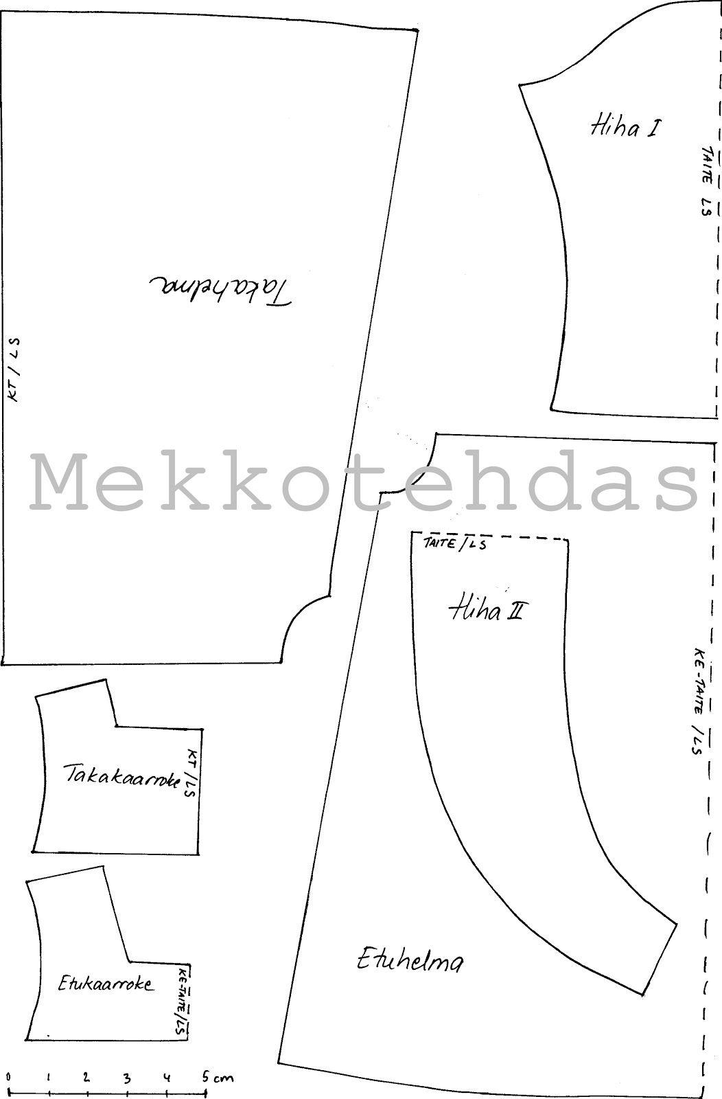 MEKKOTEHDAS: Disney Animator -nuken mekkokaava | Sewing , quilts ...
