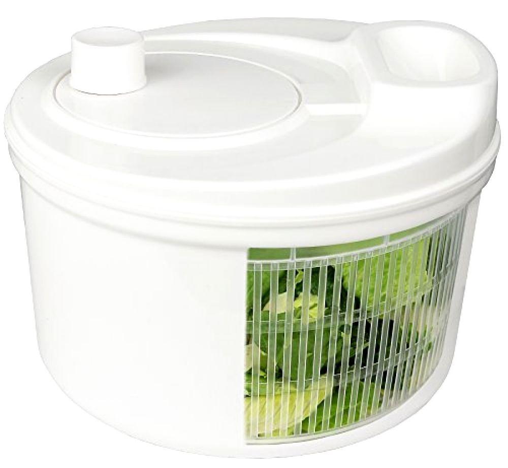 Greenco Easy Spin Manual Salad Spinner 4 Quart Salad Spinner Green Appliances Salad Shaker