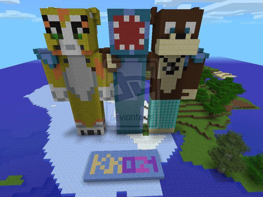 Minecraft Iballisticsquid Skin Google Search Stampy Cat