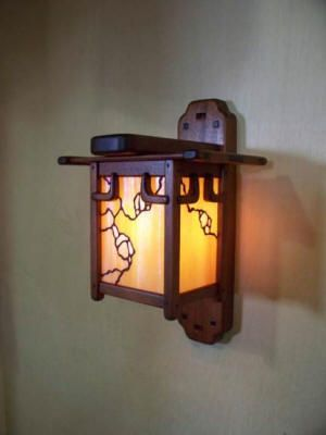 Arts Crafts Greene And Greene Style Wall Sconce Craftsman Lighting Arts And Crafts Furniture Light Crafts