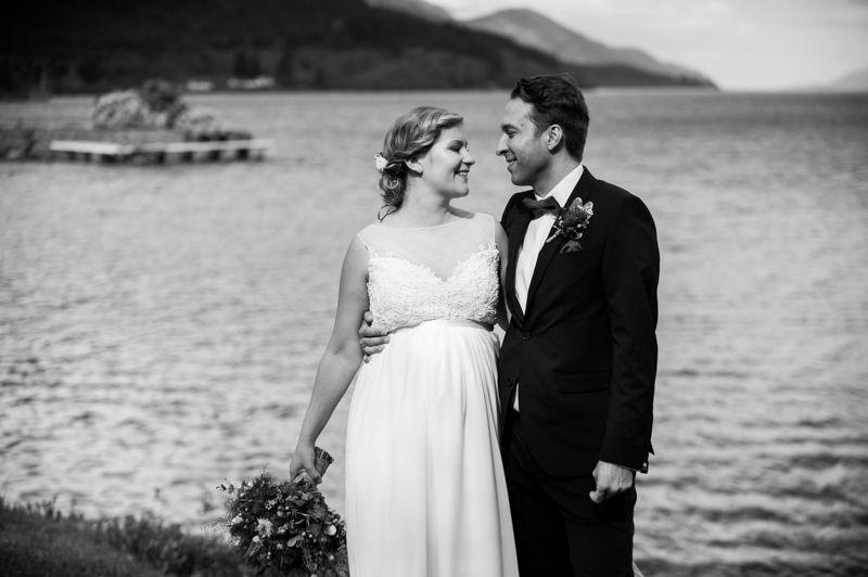 Shores Of Loch Ness Highland Wedding Photography Scottish Weddings