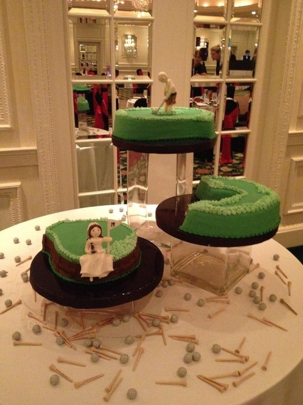24 best creative golf groom cake ideas you can try on your