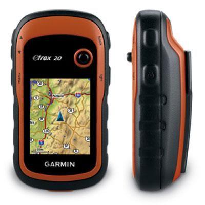 eTrex 20 GPS handheld Oran/b Garmin Garmin etrex