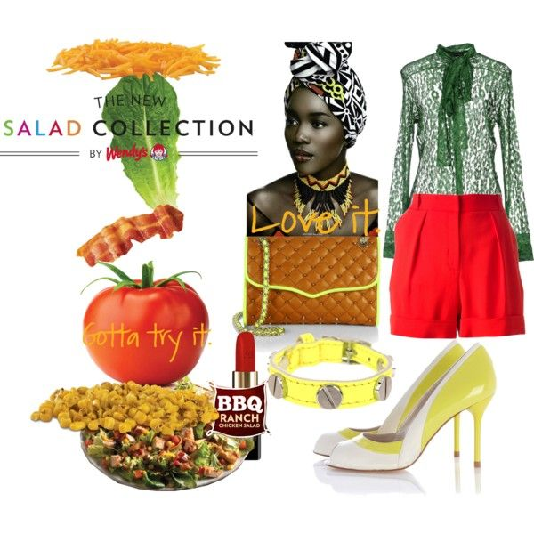 Spring Style & Wendy's® #NewSaladCollection: Pt. 1 by coppin-s on Polyvore featuring Lala Berlin, Tom Ford, Karen Millen, Rebecca Minkoff, CC SKYE, Lancôme, Juicy Couture and NewSaladCollection