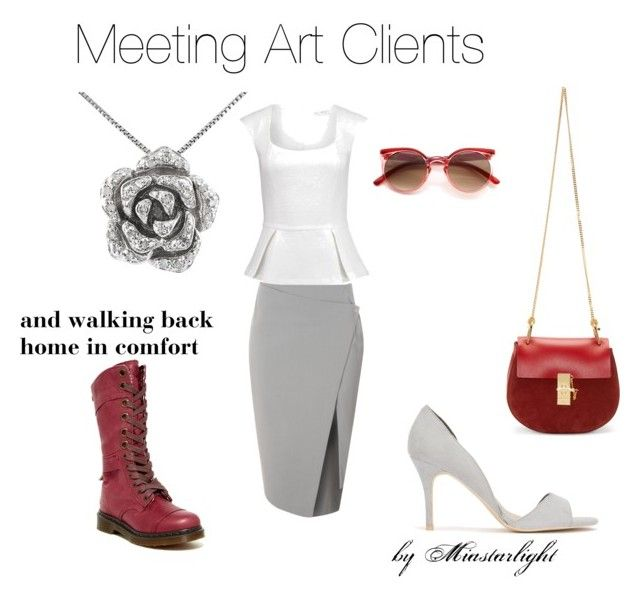 """Meeting Art Clients"" by rosielovesun on Polyvore"
