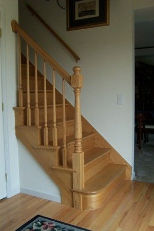 Superieur New Wood Stair   I Like The Railing