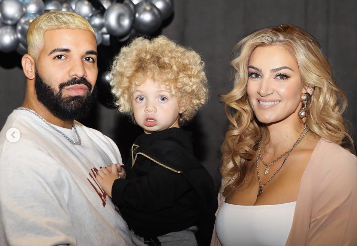 Sophie Brussaux Shares More Photos Of Adonis Jokes His Parents Are Really Blonde In 2020 Rapper Drake Celebrities