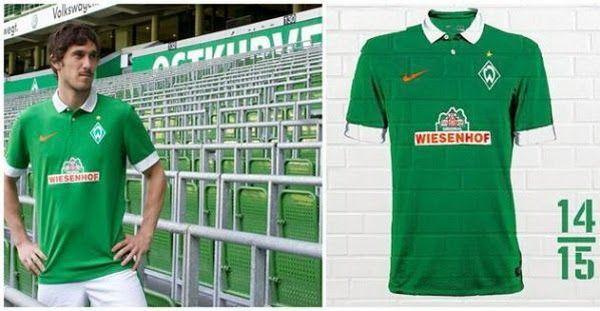 ¿Será esta la Nuevas camisetas del werder Bremen para la temporada 2014-2015      FOTO  8e9ce8b2e4ba8