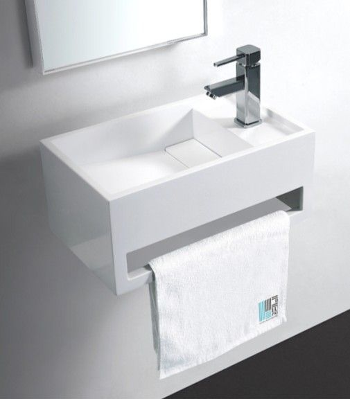 Lave Main Blanc Mat Solid Surface Wishe Lave Main Design Lave Main Toilette Lave Main