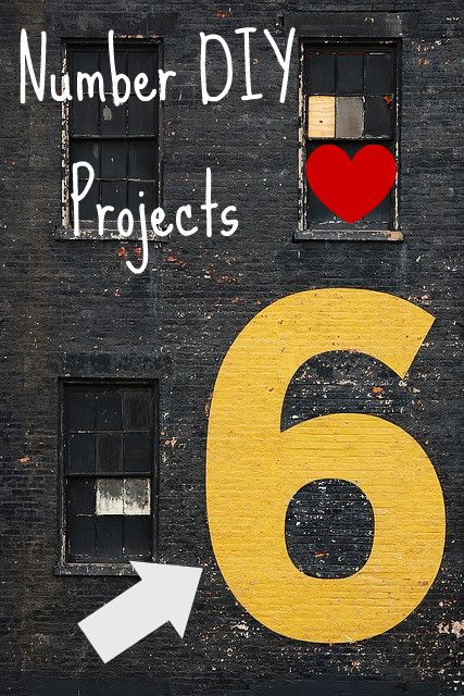 Number based DIY projects