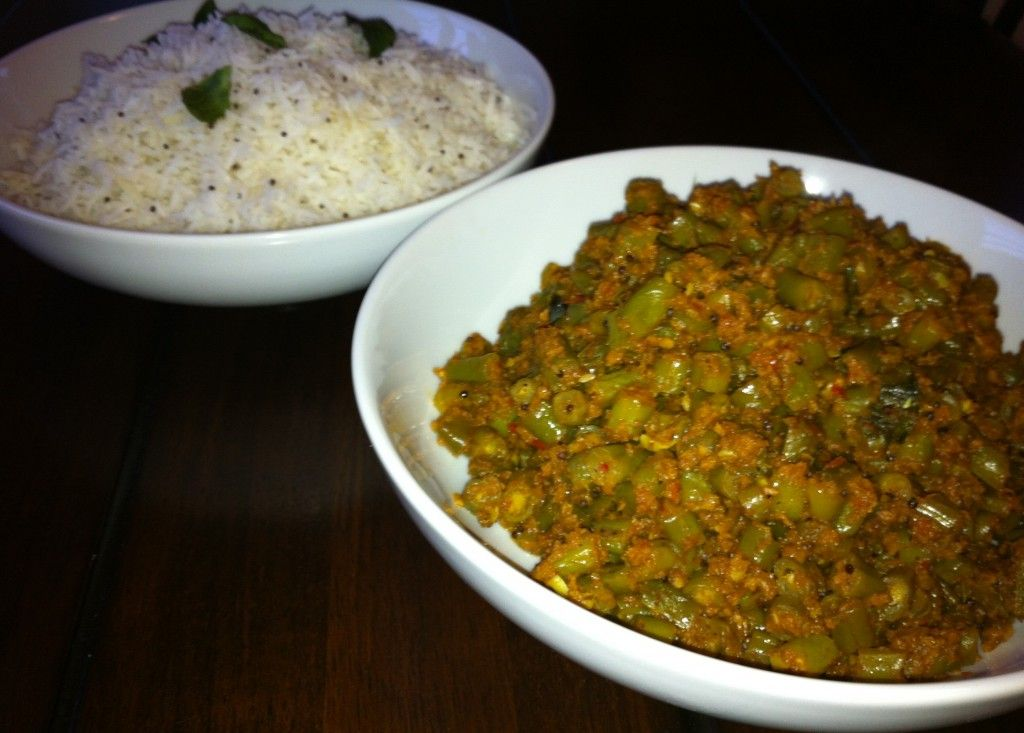 South indian green beans mustard seed rice been there ate that south indian green beans mustard seed rice forumfinder Choice Image