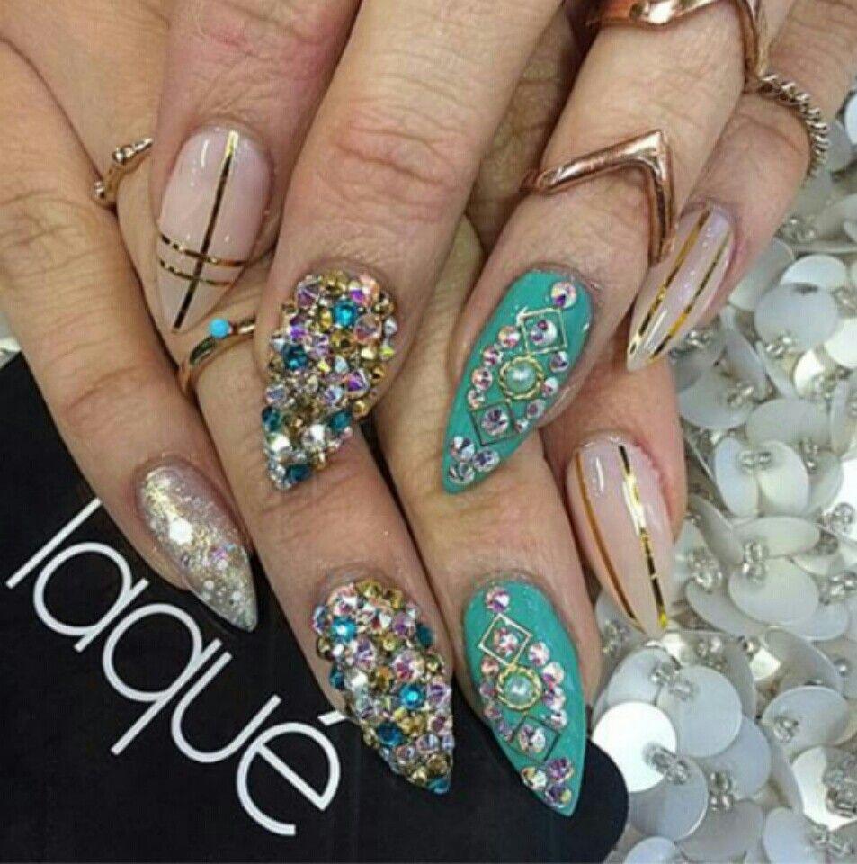 Pin by dalia on Claws | Pinterest | Girls nails and Nail nail