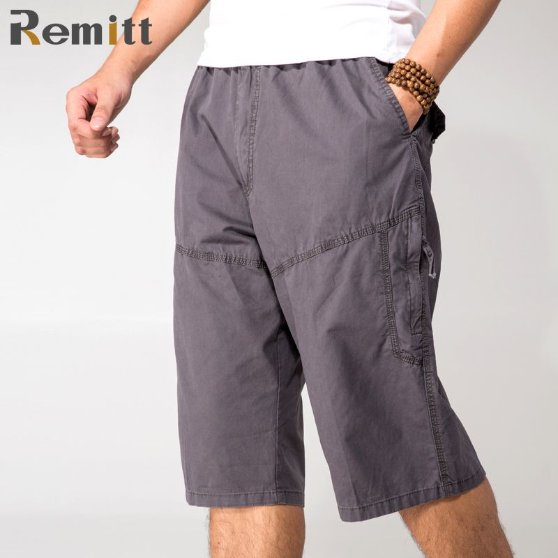 23824d4c493 Click to Buy    Man Elastic Cargo Shorts Workman Army Green Military Style