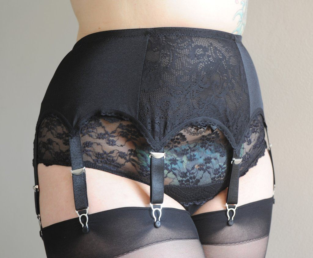 3cf95ec9782 The Nylon Swish Everyday Glamour 8 strap suspender belt Comes in sizes  Small to 4x!