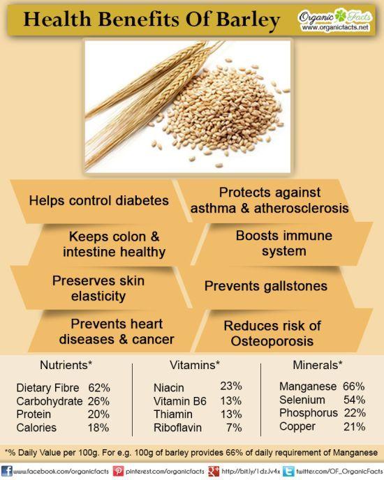 recipe: barley nutrition facts [14]