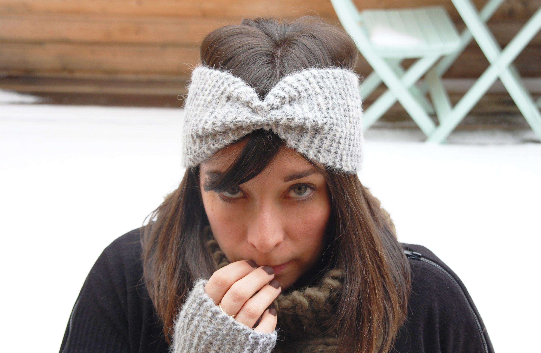 tricoter un bandeau