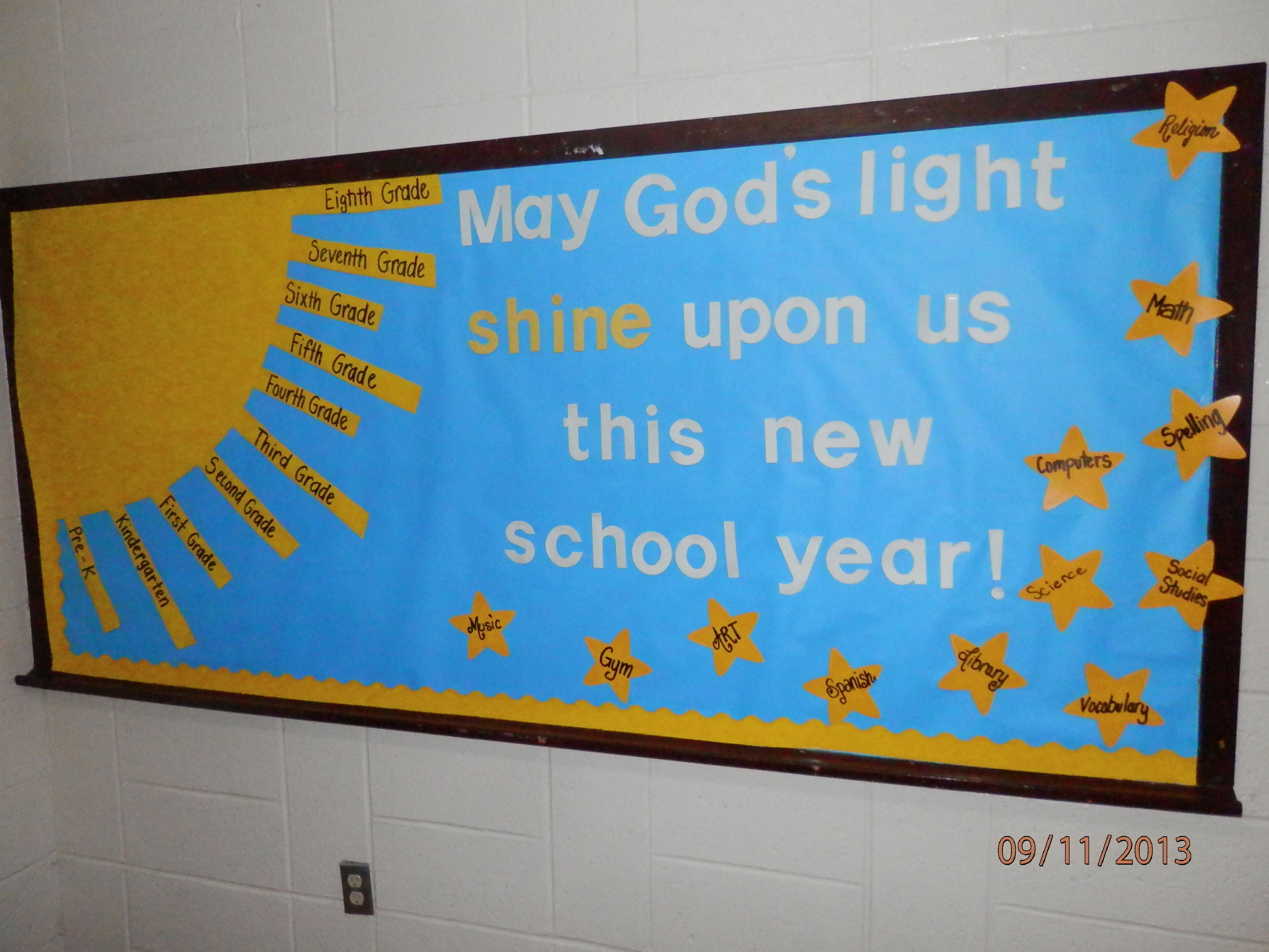 Pin on Beginning of Year Bulletin Board