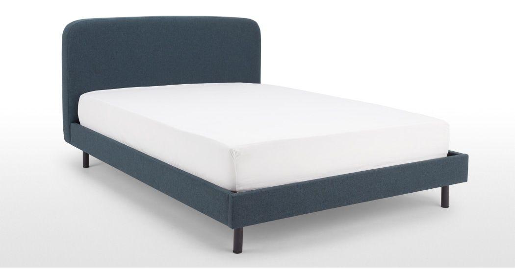 Essentials Besley Kingsize Bed, Aegean blue (avec images ...