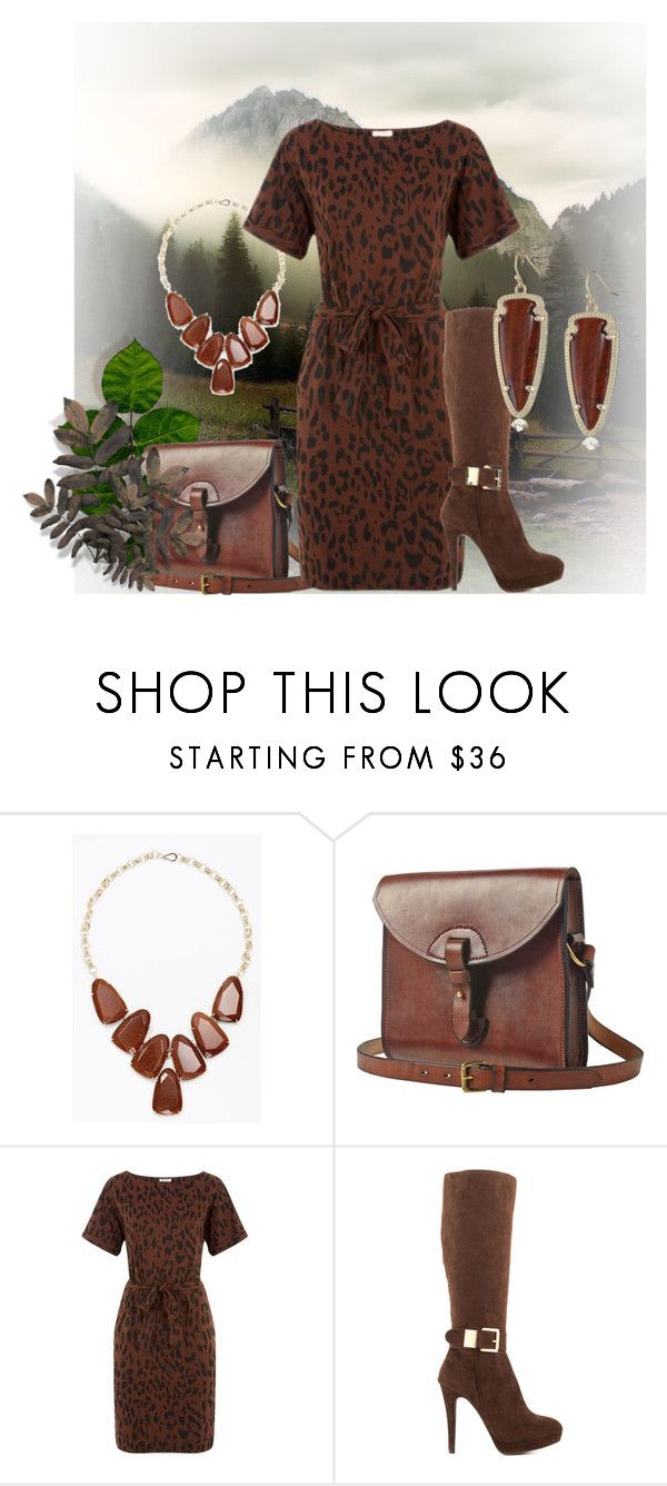 """""""over the knee boots"""" by kim-coffey-harlow ❤ liked on Polyvore featuring Kendra Scott, Toast and 2 Lips Too"""