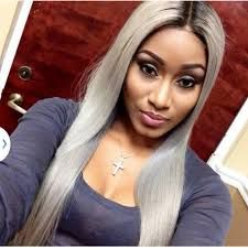 Gray Hair Trend Young Black Women Hair Color Slay Hair Hair