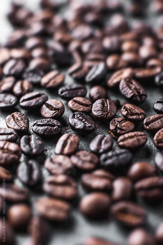 Roasted Coffee Beans By Eduard Bonnin กาแฟ