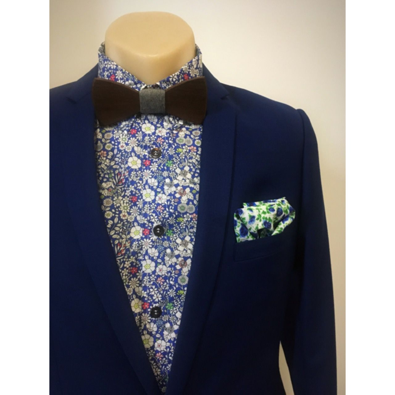Roasted Blackbutt Wooden Bow Tie Paired With A Liberty Shirt By Windsor And Ties On Pinterest Lane