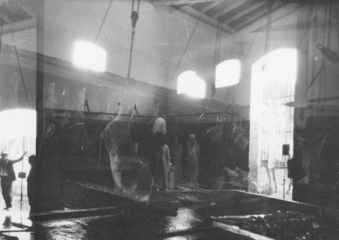 1930 - Sala de Matança.In: Relatorio e Inventario da Comissão Avaliadora. s.n.t. Acervo: Arquivo Público Municipal.
