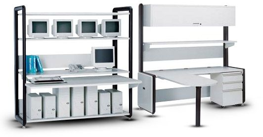 Standard Ergonomic Workbench Features Including Shelves Chairs And Computer  Bench Accessories | Computer Workbench | Pinterest | Bench And Shelves