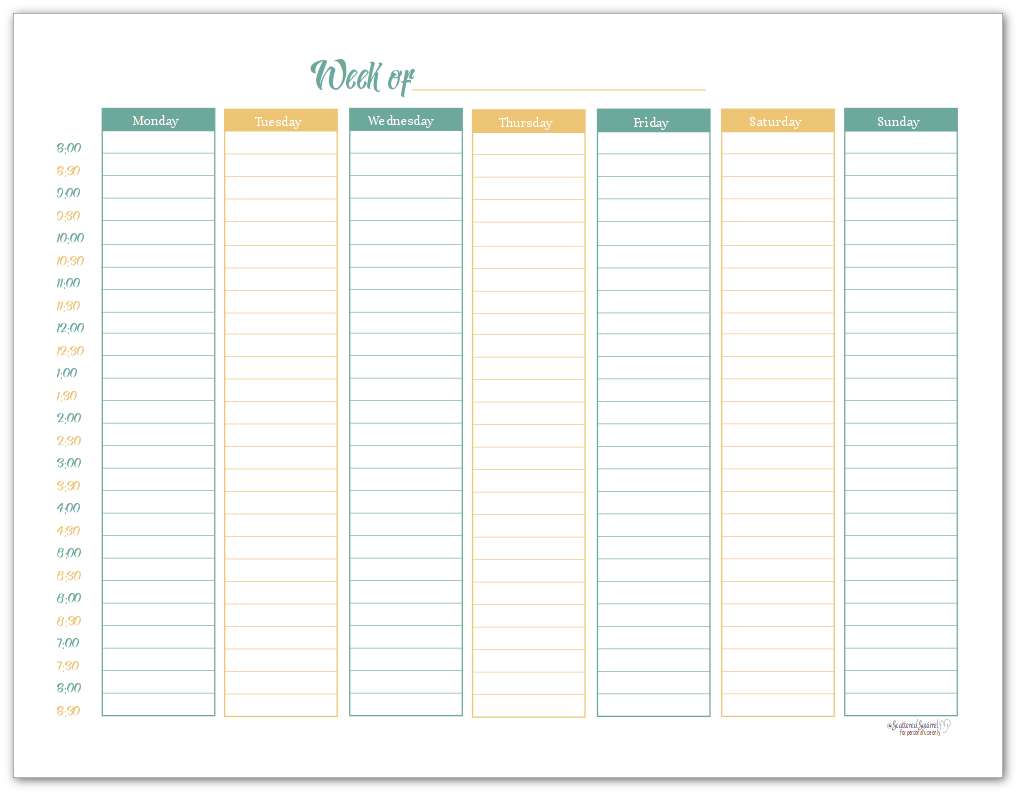 A Variety Of Weekly Planner Printables For Your Planners Weekly Planner Weekly Planner Printable Printable Planner