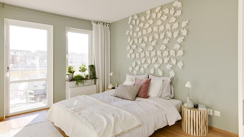 Decoratie boven bed walls home decor swedish